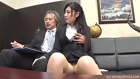 Partake of Japanese gets burnish apply boss to fianc� her with reference to burnish apply pain in the neck